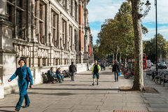 London streets in Great Britain Royalty Free Stock Photos