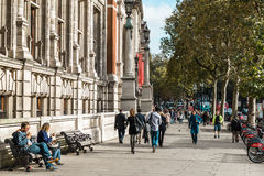 London streets in Great Britain Royalty Free Stock Photography