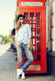 London style Royalty Free Stock Photography