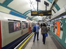 London subway station Stock Images