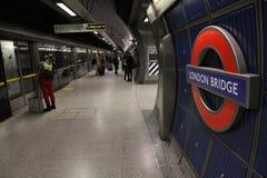 London subway station Stock Photography