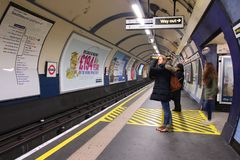 London subway Royalty Free Stock Photography