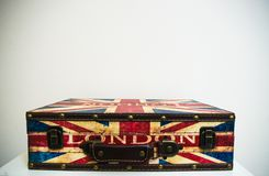 London Suitcase stock images