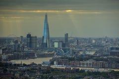 London sunrays Stock Image