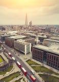 London at Sunrise Stock Image