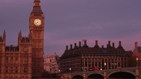 London sunset Royalty Free Stock Photography