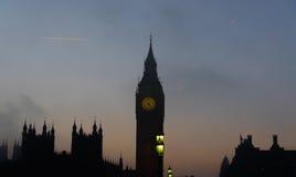 London Sunset Royalty Free Stock Photo