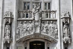 London Supreme Court Royalty Free Stock Images