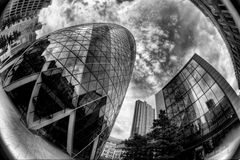London Swiss Re Royalty Free Stock Image