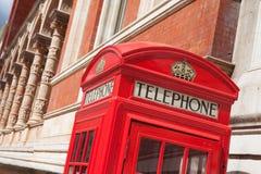 London symbol red telephone box Stock Images