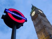 London symboler Royaltyfri Bild