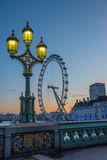 London symboler Arkivfoton