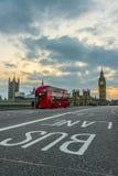 London symboler Arkivbild