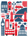London Symbols Collection vector illustration