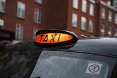 london taksówkę Zdjęcia Stock
