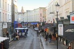 london targowa portobello droga Zdjęcie Royalty Free