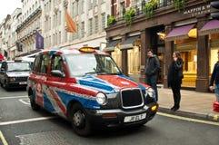 London taxar Arkivbilder