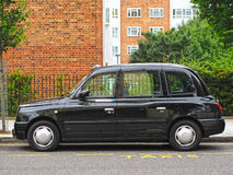 London Taxi. LTX4 Hackney Carriage, typical London Taxi / Black Cab on July 16, 2012, London, UK. LTX4 is manufactured only by the The London Taxi Company. Black Stock Photography