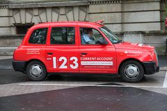 London-Taxi Lizenzfreies Stockbild