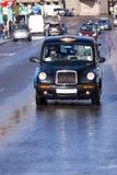 London taxi Arkivbild