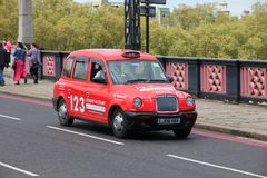 London taxi Royaltyfria Bilder