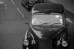 London taxi Royaltyfri Foto