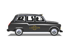 London taxi vektor illustrationer