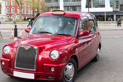 London Taxi Cab in central London, UK Stock Image