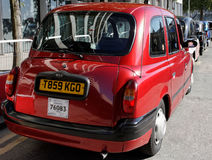 London taxi cab. Royalty Free Stock Photo