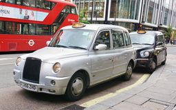 London Taxi Cab Royalty Free Stock Image