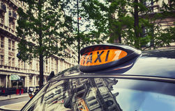 London taxi Royalty Free Stock Images