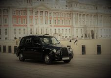 London Taxi Cab stock images