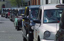 London Taxi Cabs Stock Photography