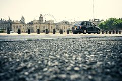 London taxi Stock Photos