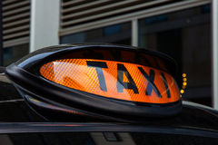 London taxi Stock Images