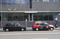 London taxi Royalty Free Stock Photos