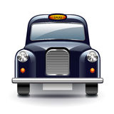London taxi  on white vector Stock Photography
