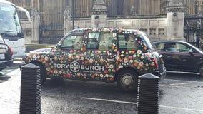 London taxiblomma Arkivfoton