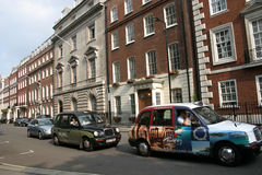 The London taxis Royalty Free Stock Photos