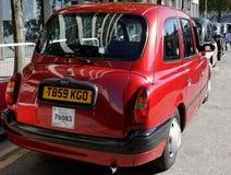 London taxitaxi Royaltyfri Foto