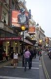 London teatrar royaltyfri foto
