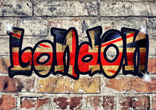 London tecken Arkivfoton