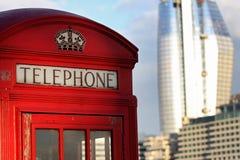 London telefon  Arkivbild