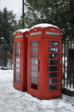 London telefonbås Royaltyfri Foto