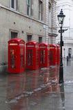 London telefoner Royaltyfri Bild