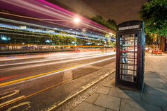London-Telefonkasten Lizenzfreies Stockbild
