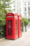 London-Telefonstand Stockbild
