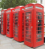 London-Telefonzelle Stockfoto