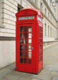 London telephone. Clasical public telephone Royalty Free Stock Image