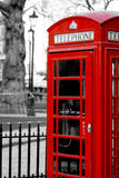 London Telephone booth Royalty Free Stock Photography